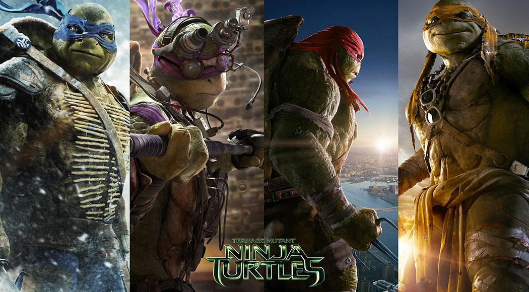 Tartarugas Ninja: Reveja a História!