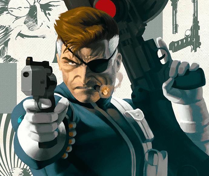 A origem secreta de Nick Fury