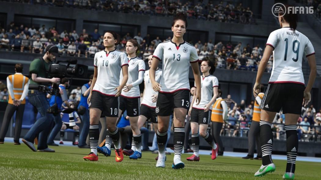 Mulheres no FIFA 16: Antes tarde do que nunca