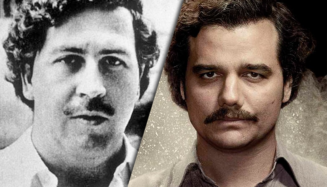 Pablo Escobar: Real vs Narcos