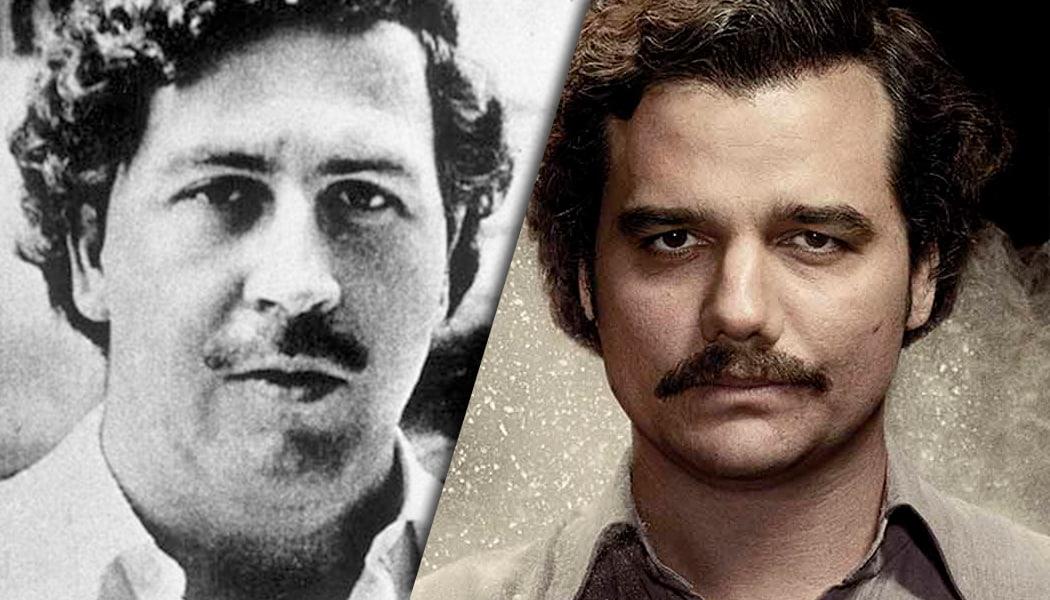 Pablo Escobar: Real vs Narcos