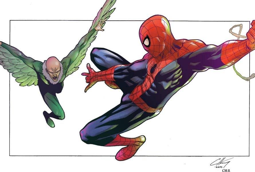 Homem-Aranha: De Volta ao Lar – Quem é o Abutre?