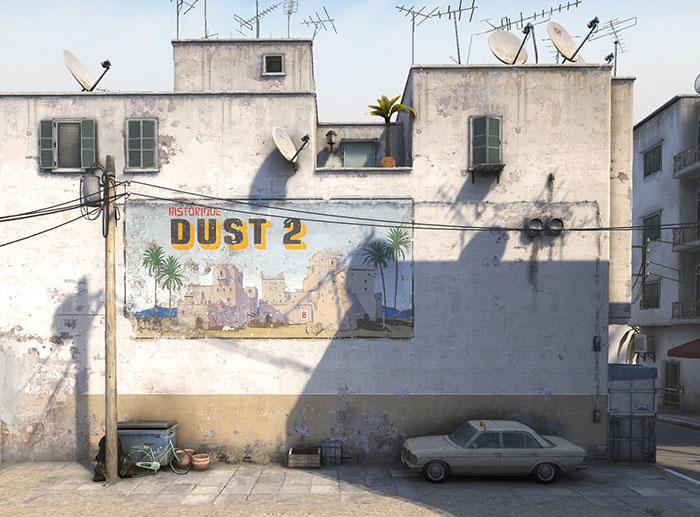 CS:GO   Dust2 vai ganhar nova versão