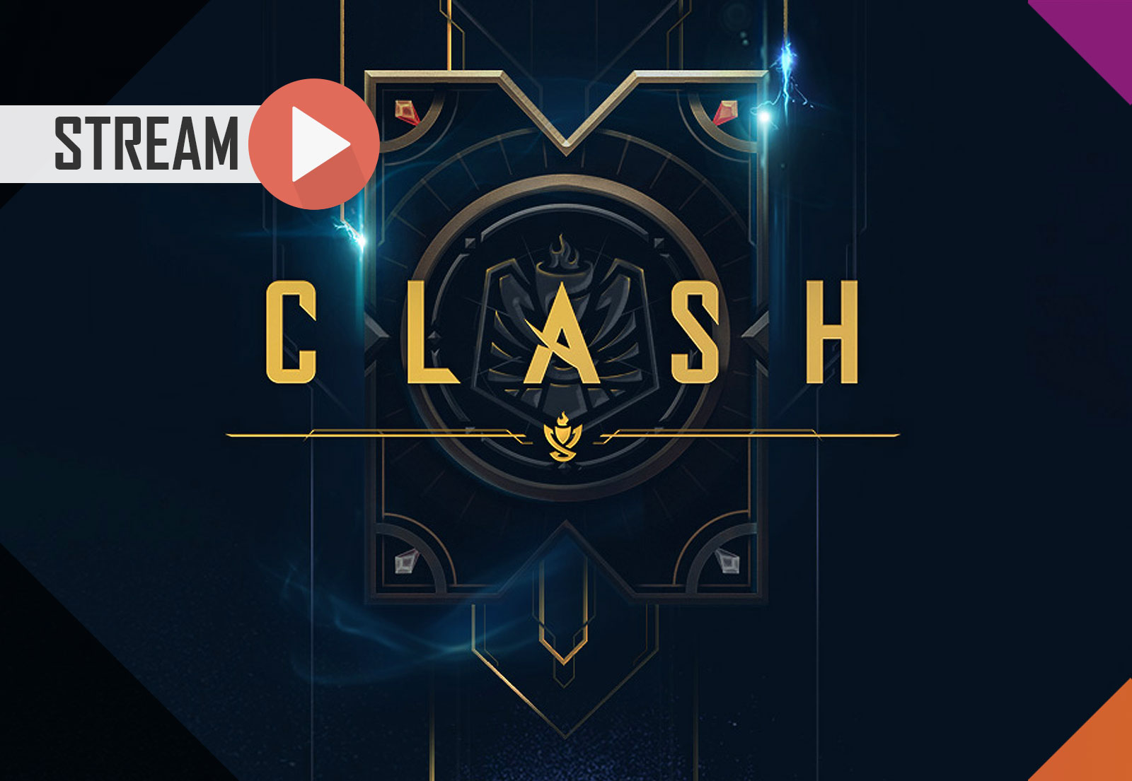 Jogamos (e ganhamos) o CLASH (League of Legends)!