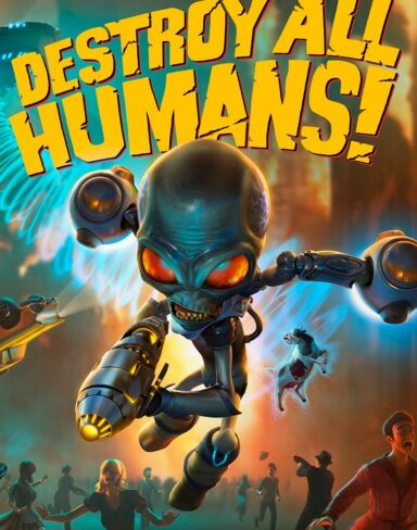 DESTROY ALL HUMANS! | Live Gameplay com Saulo Martins