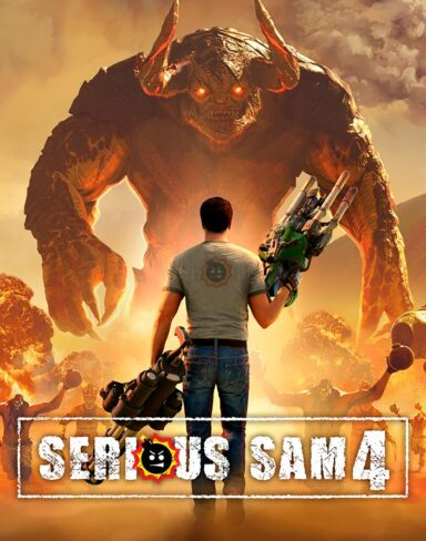 SERIOUS SAM 4 (Modo Co-op) | Live Gameplay com Saulo Martins e Johny Miranda – Parte 1